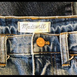 "Madewell Slim BoyJean size 26 high waisted 11"""